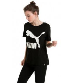 Camiseta Mujer PUMA Archive Logo Black