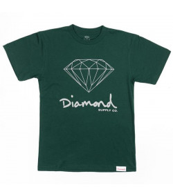 Camiseta Og Sign Diamond Verde