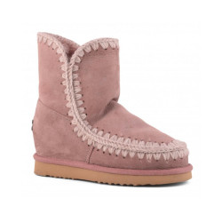 Botas Mou Eskimo Wedge Short Rosa