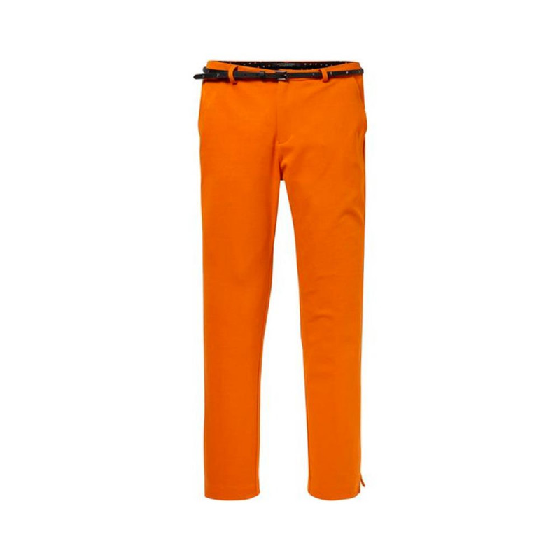 Pantalon Maison Scotch Naranja
