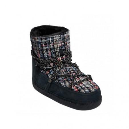 Botas Inuikii Sneakers Negro