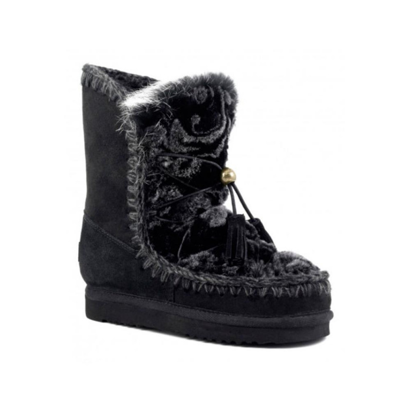 Botas Mou Eskimo Dream Lace Printed Flower
