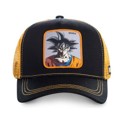 Gorra Capslab Goku Negro Y Naranja