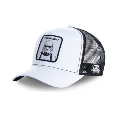 Gorra Capslab Star Wars Blanco
