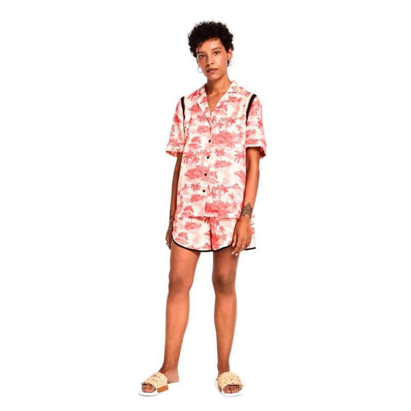 Camisa Maison Scotch Hawaiana Estampada