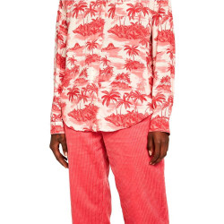 Camisa Maison Scotch Tropical Estampado