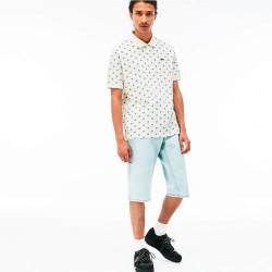 Polo Lacoste Live Slim Fit Blanco