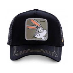 Gorra Capslab Bugs Bunny Negro
