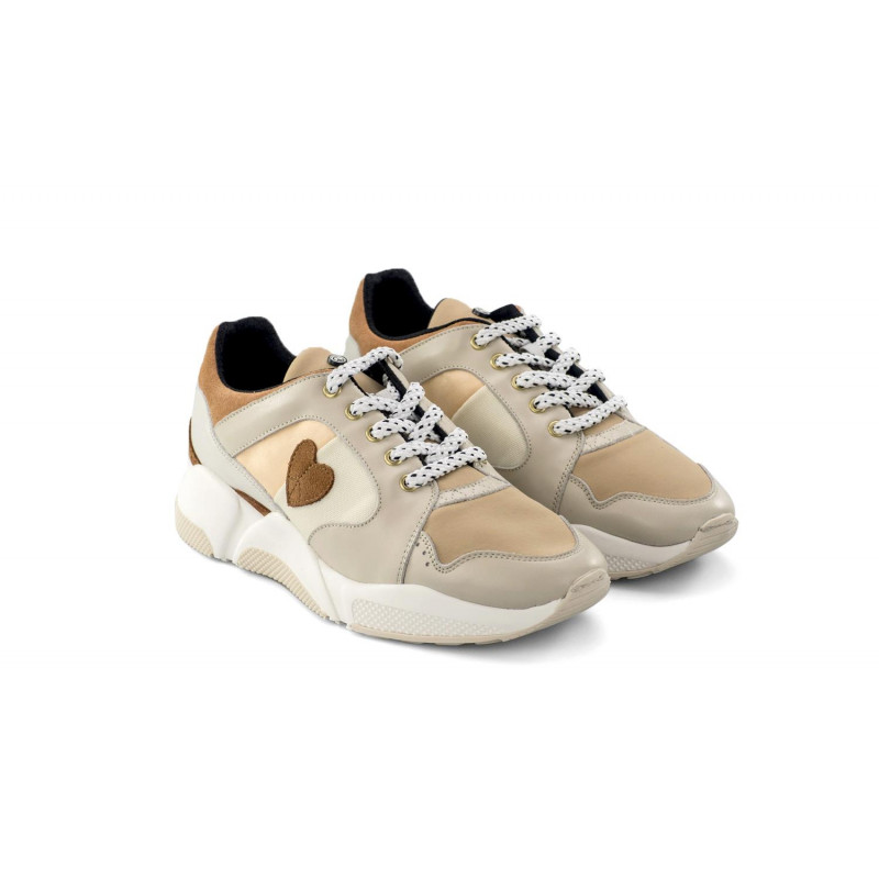 Zapatillas  Dolfie Morgan Beige