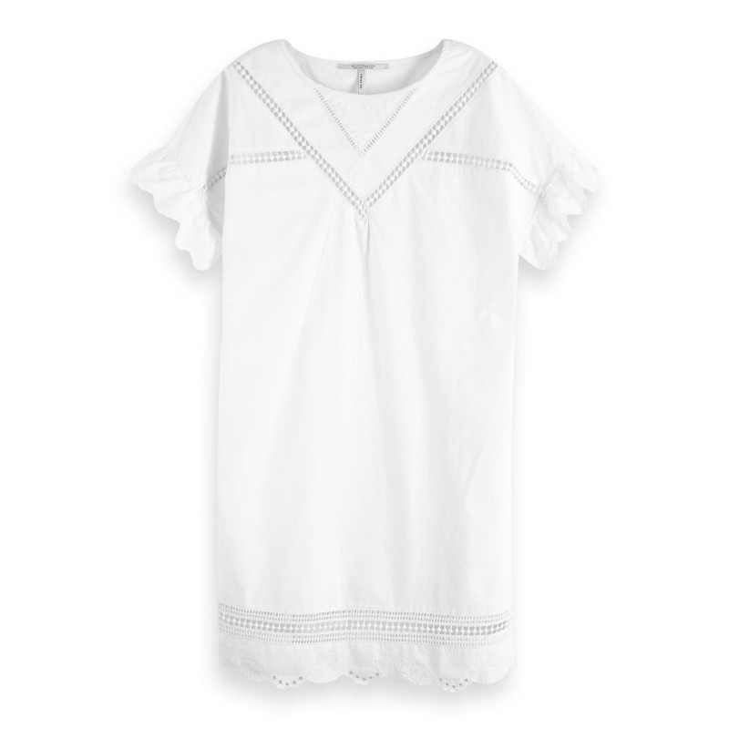 Vestido Maison Embroidery Blanco