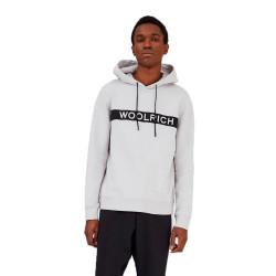 Sudadera Woolrich Compact Gris