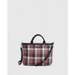 Bolso Woolrich Check Negro
