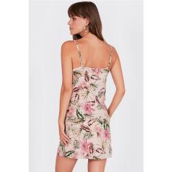 Vestido Amuse Centro Rosa Palo