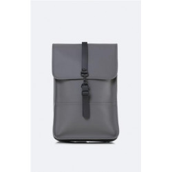 Mochila Rains Backpack Mini Gris Claro