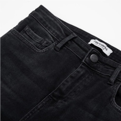 Pantalon Carhartt W´Bix Negro Gastado