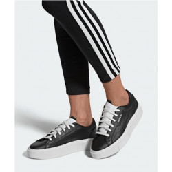 Zapatillas Adidas Sleek Super Negro