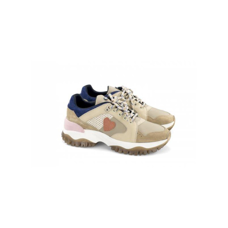 Zapatillas Dolfie Morgan Fx 1 Beige