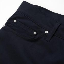 Pantalon Carhartt Wip Klondike Azul Marino