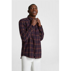 Camisa Woolrich Classic Burgundy