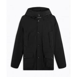 Parka Woolrich Stretch Arctic Black Rinsed