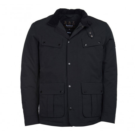 Chaqueta Barbour Duke Black...