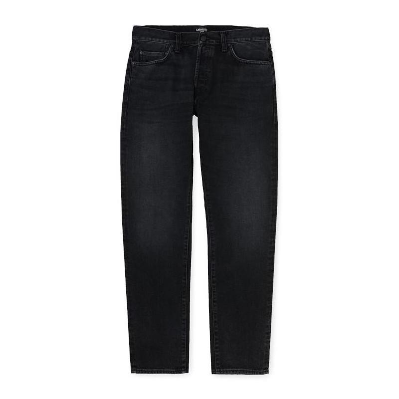 Pantalon Carhartt Wip Klondike Black Mid Worn