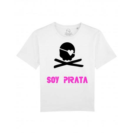Camiseta Jon Pirata Skull...