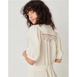 Vestido Sessun Mahavira Blanco