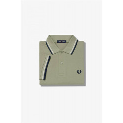 Polo Fred Perry Twin Tipped Verde