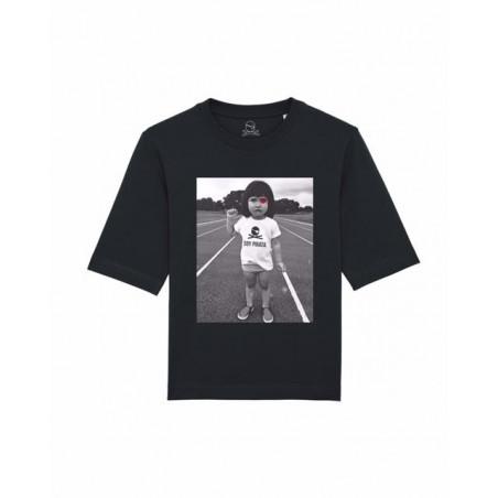Camiseta Jon Pirata Baby Negro