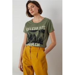 Camiseta Leon  Harper Toro Verde