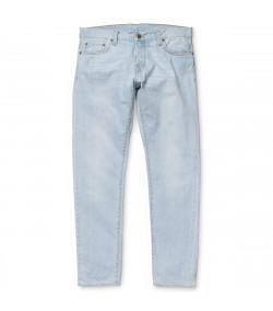 Pantalon Hombre Carhartt WIP Buccaneer Pant Blue Denim, Blast Washed
