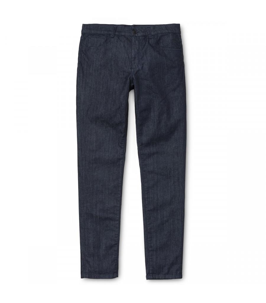 Pantalon Hombre Carhartt WIP Downey Pant Blue Stretch Denim, Rinsed
