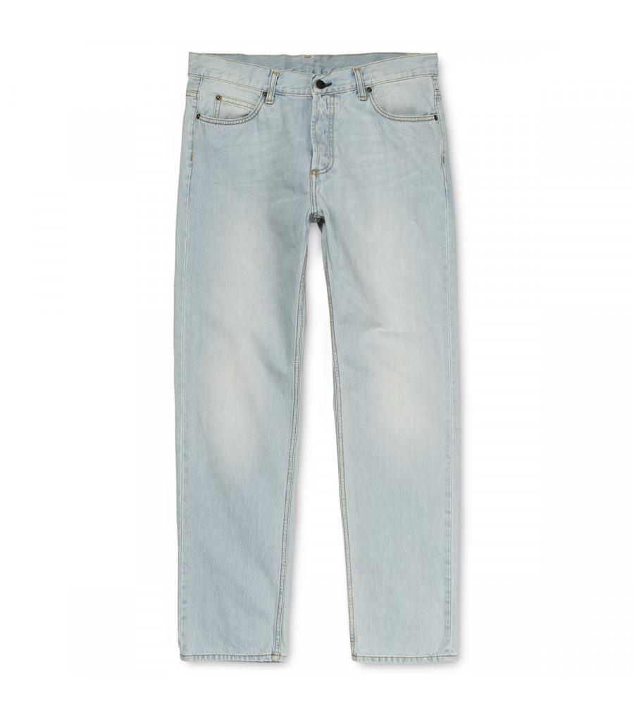 Pantalon Hombre Carhartt WIP Texas Pant Blue Denim, Blast Washed