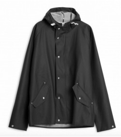 Chubasquero Norse Projects Anker Classic Black
