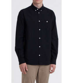 Camisa Hombre Norse Projects Anton Oxford Black