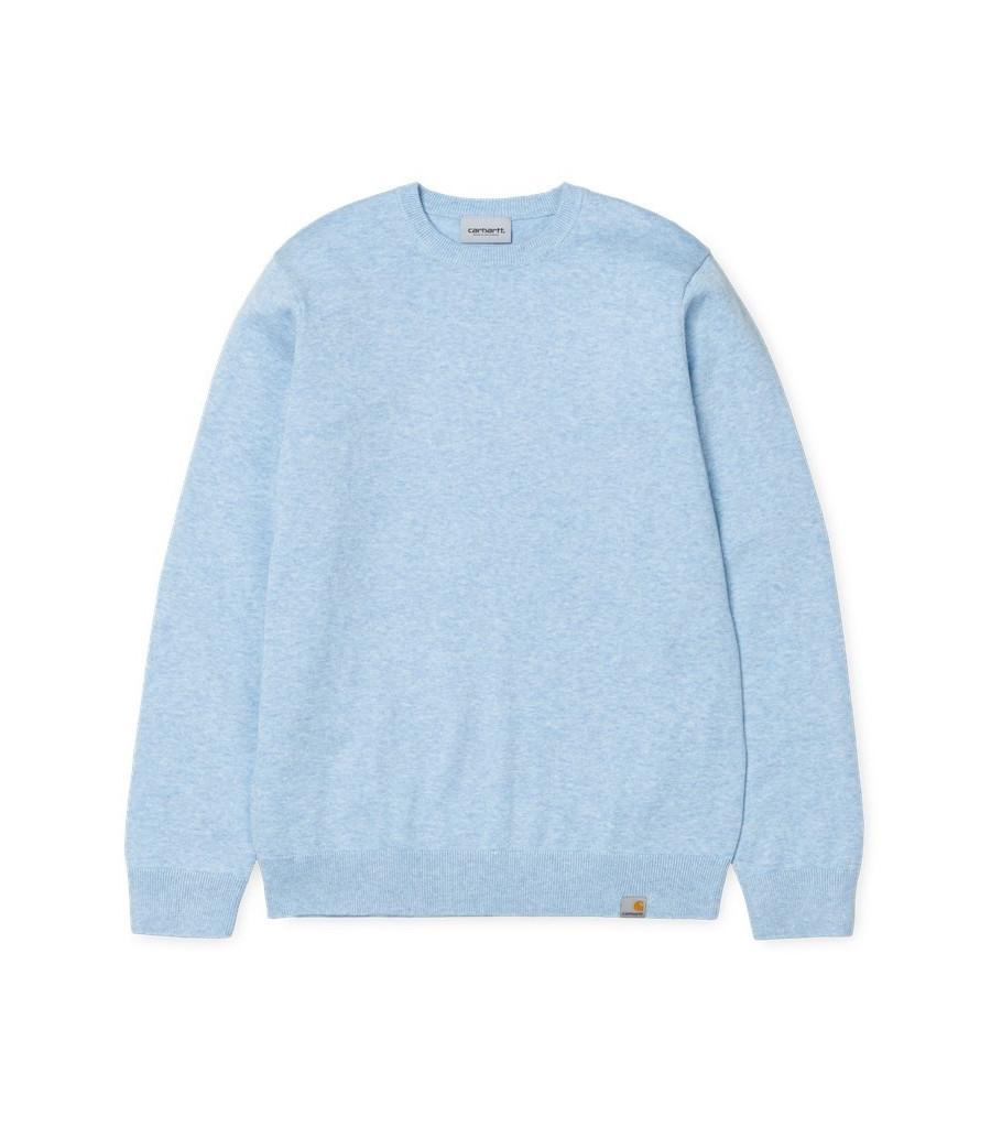 Jersey Hombre Carhartt WIP Playoff Sweater Blue Heather
