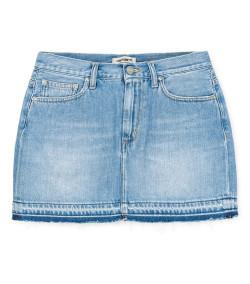 Falda Mujer Carhartt WIP W Page Skirt Denim Blue