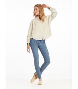 Pantalón Skinny Jean Mujer...