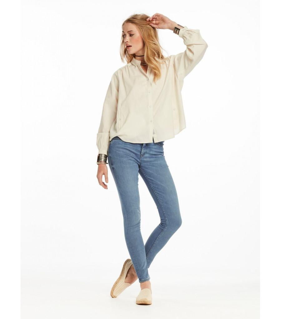 Pantalón Skinny Jean Mujer MAISON SCOTCH SODA Haut Cloud Nine